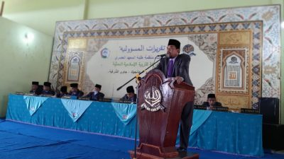 Bekal Calon Pemimpin oleh Bapak Pimpinan Pondok Modern Al-Barokah