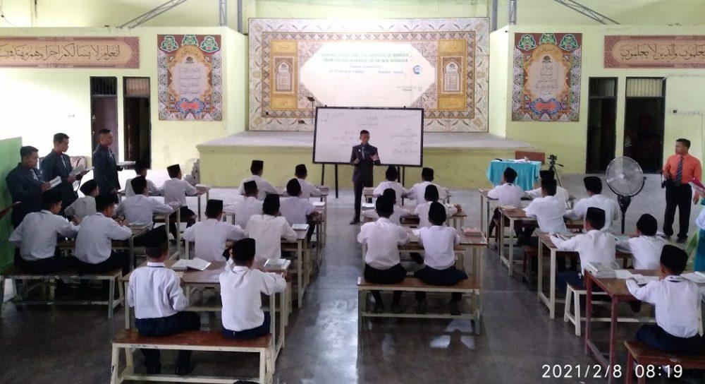 Micro Teaching Santri Pondok Modern Al-Barokah Nganjuk