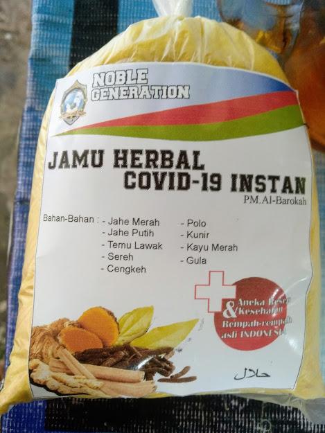 Produk Jahe Herbal Pesantren Modern Al-Barokah Nganjuk